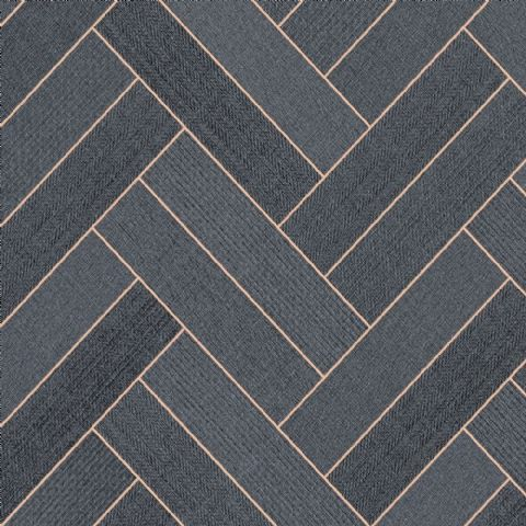 CFS Trend-Tex Twin Parquet Black-Gold